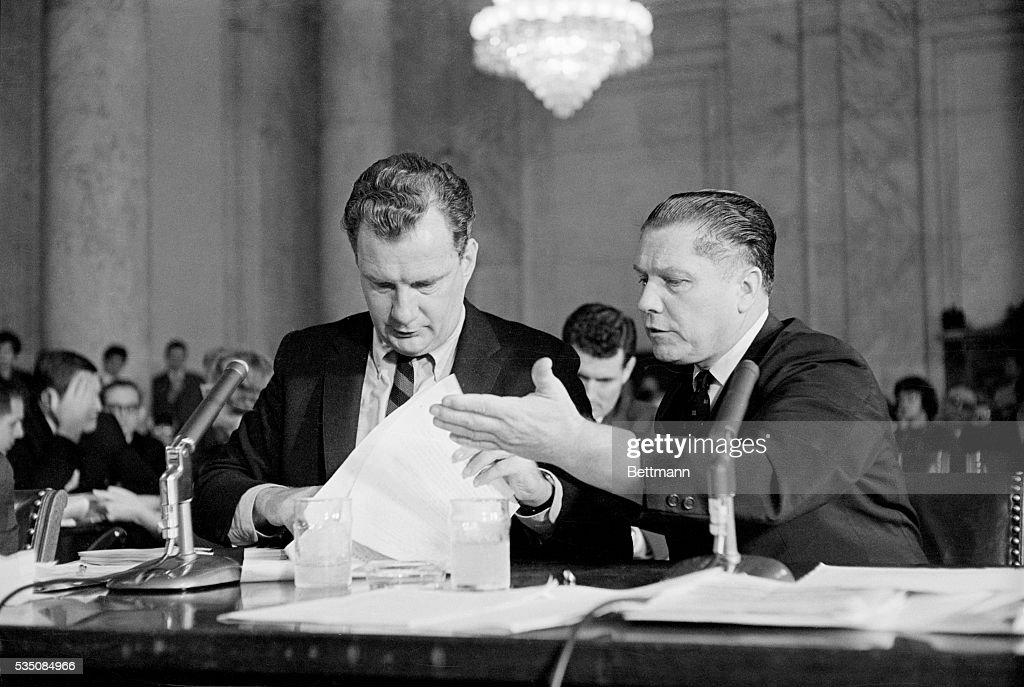 Jimmy Hoffa | Getty Images