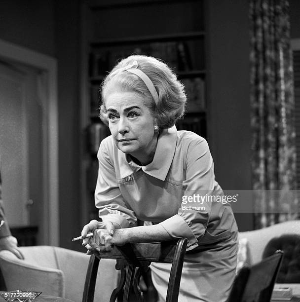 Actrss Joan Crawford is suffering again this time for daughter Christina Miss Crawford will substitute for her daughter for four programs on the...