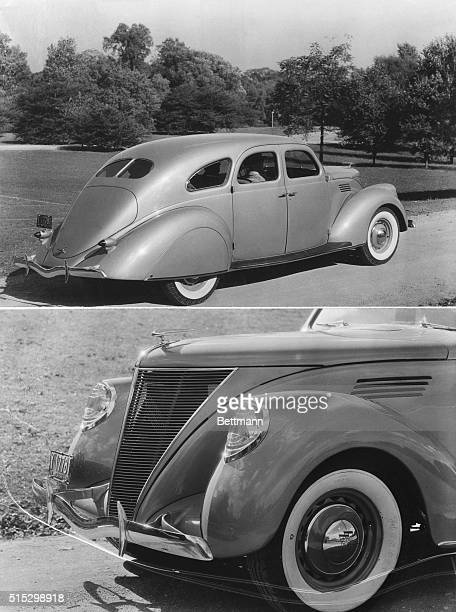 New York New YorkAbove are two views of the new V12 Lincoln Zephyr product of the FordLincoln organizations and the newest entry in the mediumpriced...