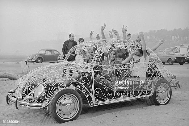 Los Angeles CA Air conditioning is no problem with this rather unusual model of Volkswagen The entire body is made out of white wrought iron The kids...