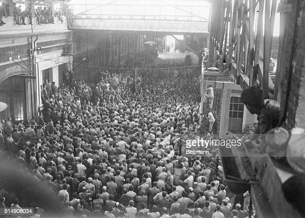 10/5/1920Turin ItalyA Soviet meeting in the Fiat Works