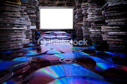 Сd Dvd Blu Ray Discs. : Stock Photo