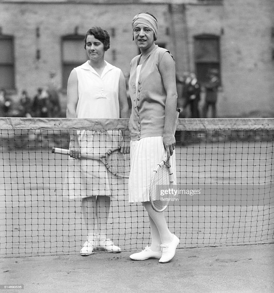 Mary K Browne And Suzanne Lenglen