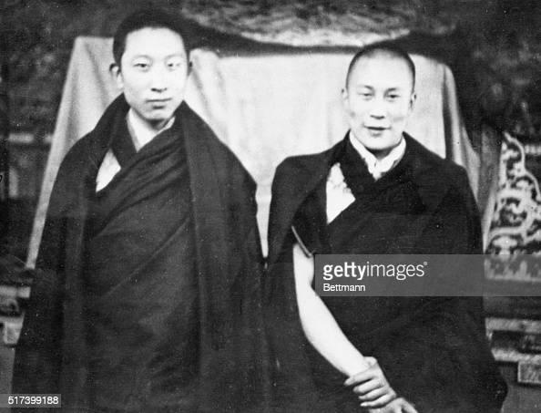 Le Panchen-lama et le Dalaï-lama en 1952 © Bettmann/CORBIS