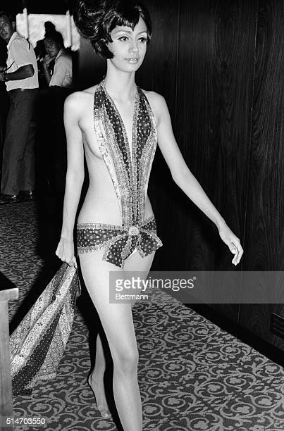 10/8/1968Hong Kong Singapore model Fay Tan models the latest in ultrasimplified resort wear during a fashion show in Hong Kong It is hard to say...