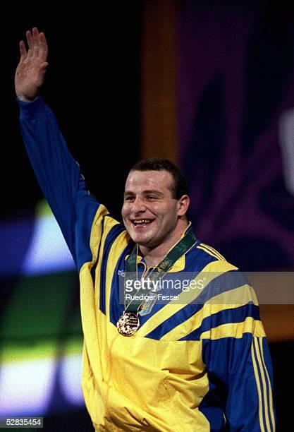 GEWICHTHEBEN 108kg/Maenner ATLANTA 1996 29796 Timur TAIMAZOV/UKR GOLD MEDAILLE