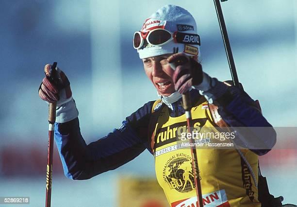 WM 2000 10km VERFOLGUNG FRAUEN Oslo/NOR 200200m Magdalena FORSBERG/SWE