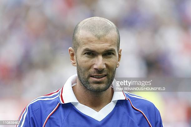 10Th Anniversary Of France S World Cup Victory Football Exhibition Match At The Stade De France In Paris France On July 12 2008 Zinedine Zidane
