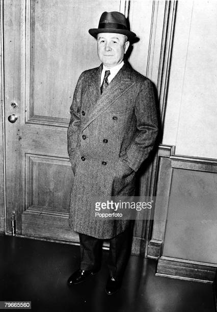 10th April 1939 New York USA A picture of American Gangster Johnny Torrio