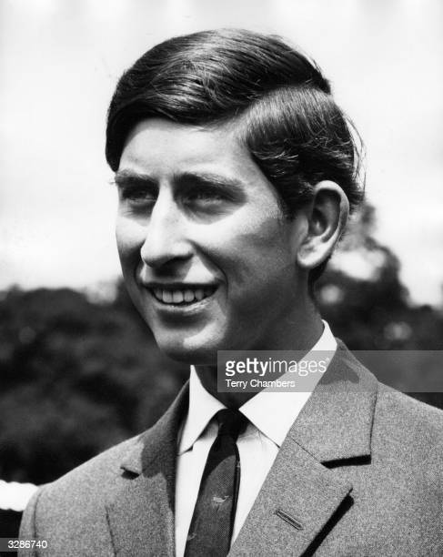 Charles Prince of Wales attending an official function