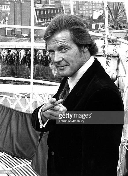 British film and television actor Roger Moore