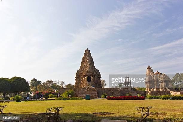 10th century built Kandariya Mahadeva Temple, Khajuraho, Chhatarpur District, Madhya Pradesh, India