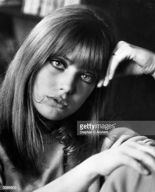 Model and actress Jane Birkin