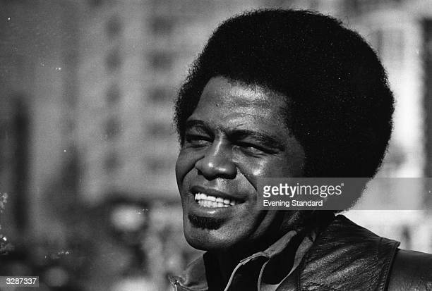 Legendary soulfunk singer songwriter James Brown