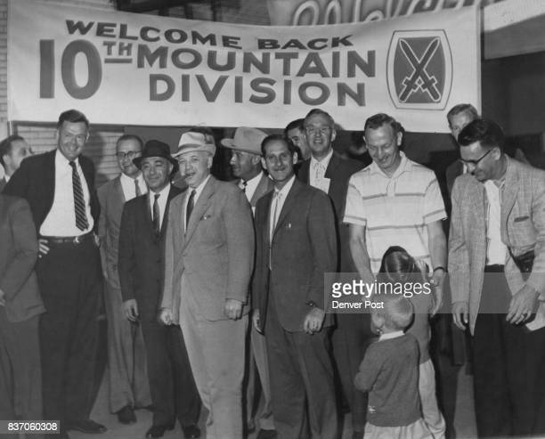 MAY 27 1959 MAY 28 1959 10th Mountain Division Vets Arrive A reception committee of former members of the famed 10th Mountain Division welcomes...