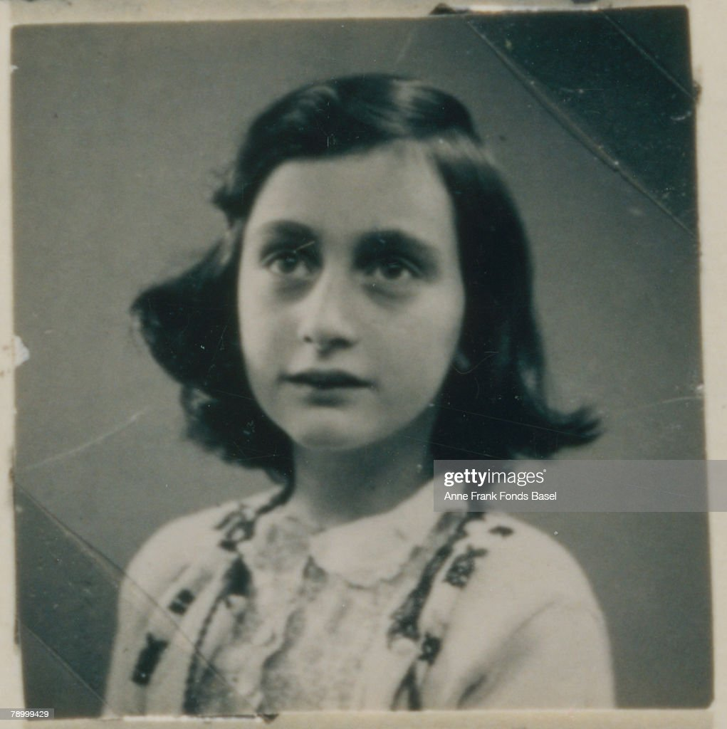 <a gi-track='captionPersonalityLinkClicked' href=/galleries/search?phrase=Anne+Frank&family=editorial&specificpeople=173492 ng-click='$event.stopPropagation()'>Anne Frank</a> (1929 - 1945), who describes this image in her diary 'This is a photo as I would wish myself to look all the time. Then I would maybe have a chance to come to Hollywood.'