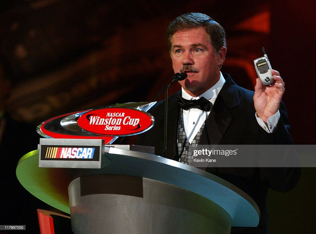 10th place finisher in the NASCAR Winston Cup points standings Terry Labonte thanks NEXTEL for giving him a 'FREE' NEXTEL phone for the upcoming...