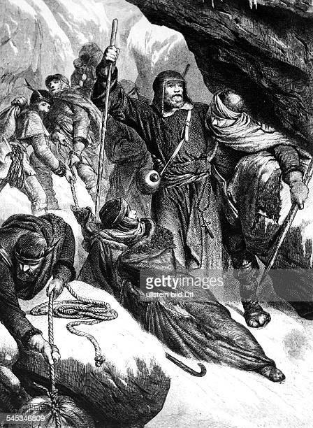 *1111105007081106deutscher König 10561106römischer Kaiser 10841106Heinrich IV und seine Gemahlin übersteigenim Büssergewande die Alpen auf dem...