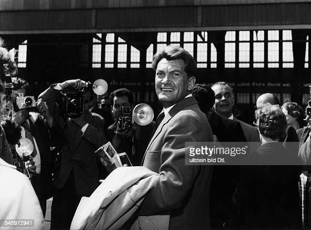 *Schauspieler Frankreicheigentlich Jean MaraisVillainPorträt um 1959