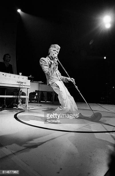 11/2/1974New York NY David Bowie British glitterrock star who seems to get as much criticism as he does praise is changing his image sartorially He...