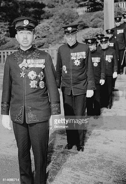 This closeup Japan's Emperor Hirohito was made at a distance of six feetthe closest any photographer has been allowed to His Majesty Photo breaking...