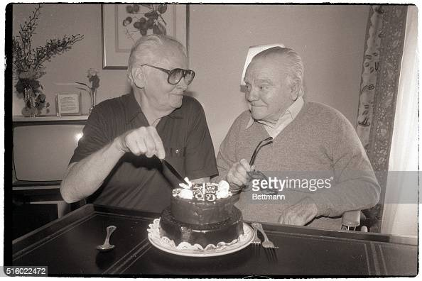 Art Carney James Cagney Birthday Cake