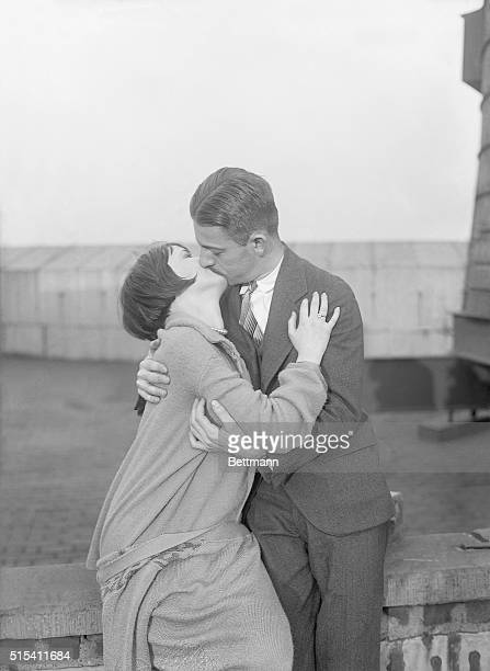 11/6/1925New York NYORIGINAL CAPTION READS The soul kiss most dangerous of all and one that stirs the emotions Poets have long been singing of the...