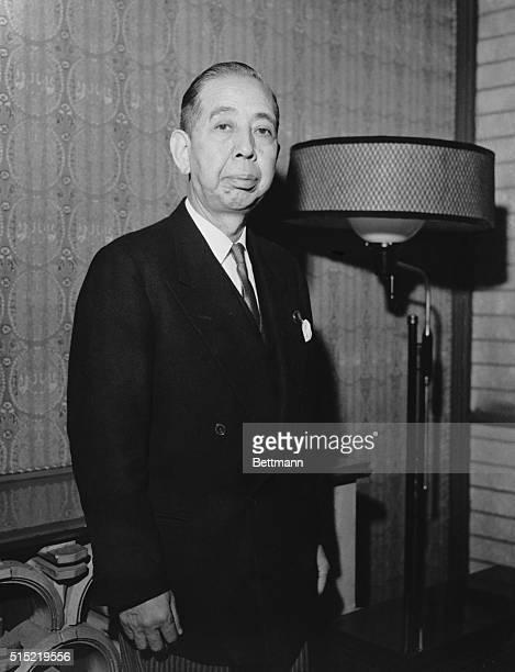 1/16/1960Photo shows Nobusuke Kishi Prime Minister of Japan