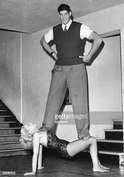 Largerthanlife Ewart Potgieter balances on strong woman Jean Rhodes