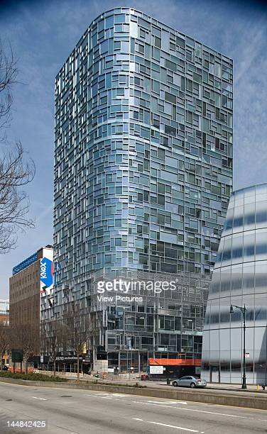 100 11Th Avenue 11Th Avenue New York New York United States Architect Jean Nouvel View Of Jean Nouvel'S Residence 100 11Th Avenue From SwWith Frank...