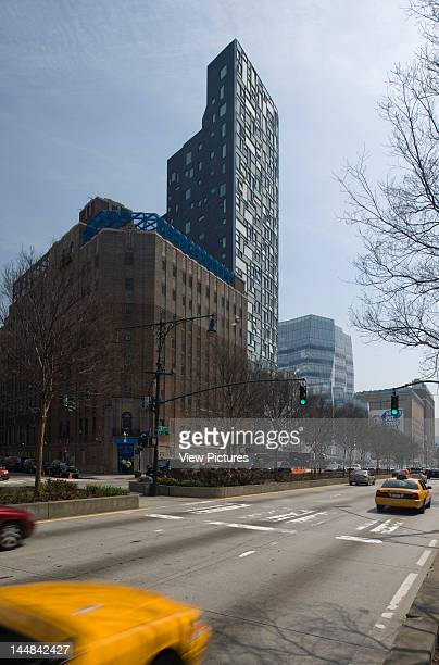 100 11Th Avenue 11Th Avenue New York New York United States Architect Jean Nouvel View Of Jean Nouvel'S Residence 100 11Th Avenue From NwWith Frank...