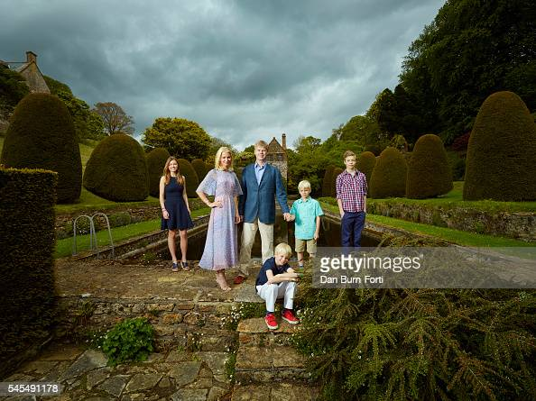 11th Earl of Sandwich Luke Montagu is photographed at his Mapperton estate for the Times on May 28 2015 near Beaminster England