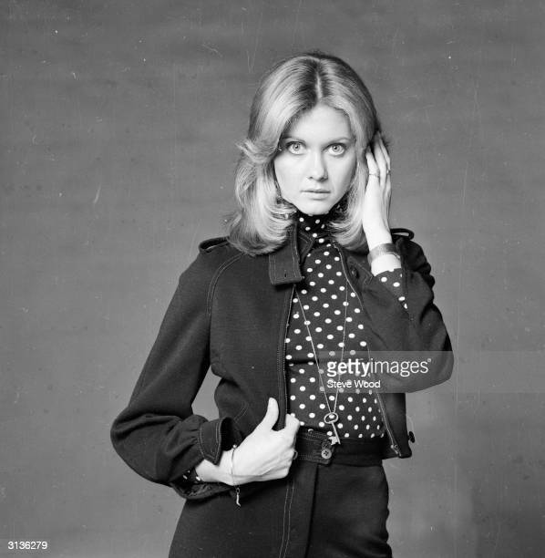 British born pop singer and actress Olivia Newton John