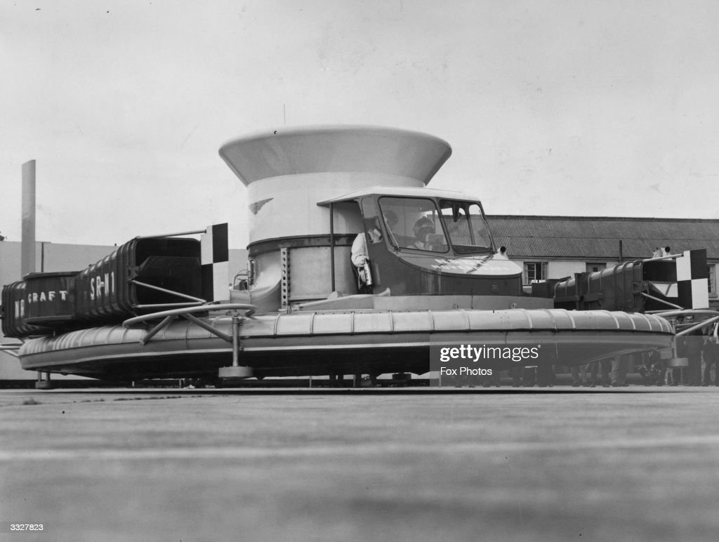 The SaundersRoe SRN I an early example of a hovercraft