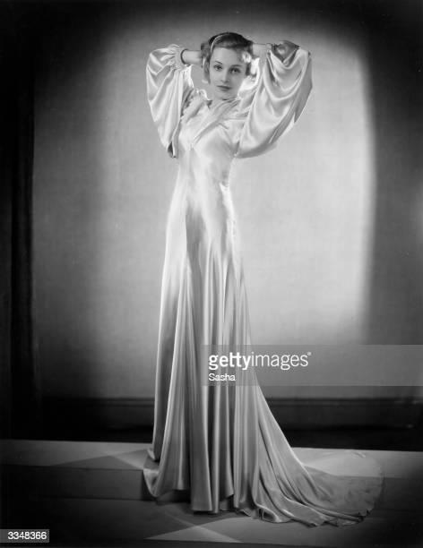 British actress Madeleine Carroll born MarieMadeleine Bernadette O'Carroll