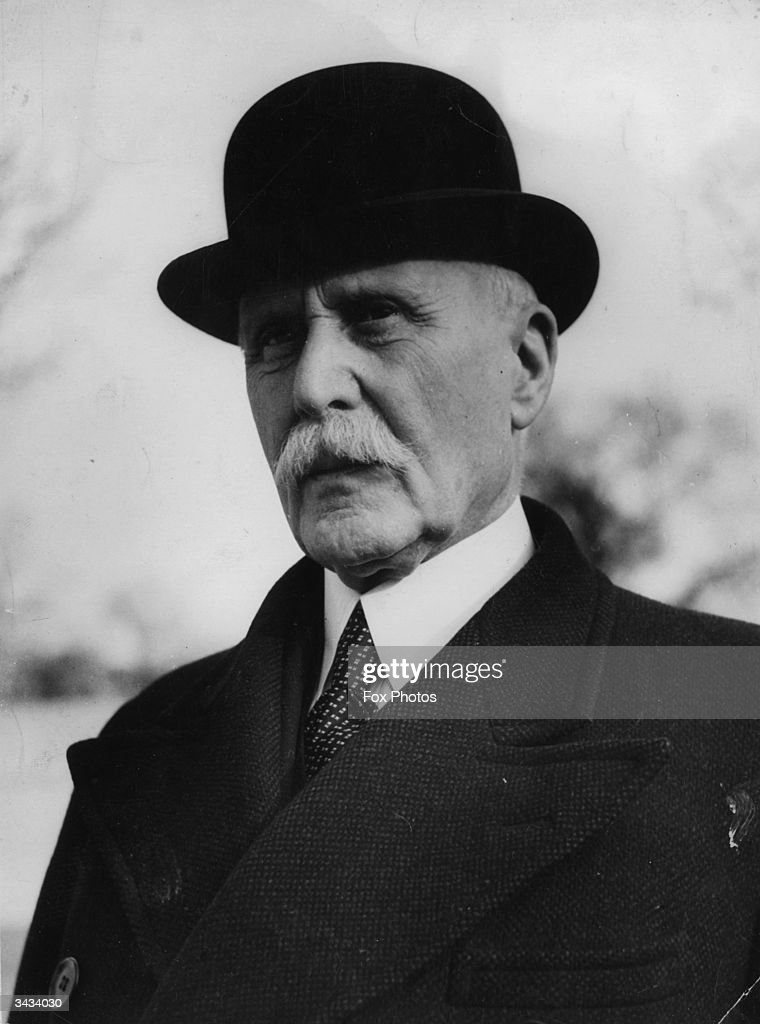 French statesman and Marshal Henri Philippe Petain (1856 - 1951) during his post as French ambassador to Spain. A national hero of World War I, he was sentenced to life imprisonment for treason after World War II.