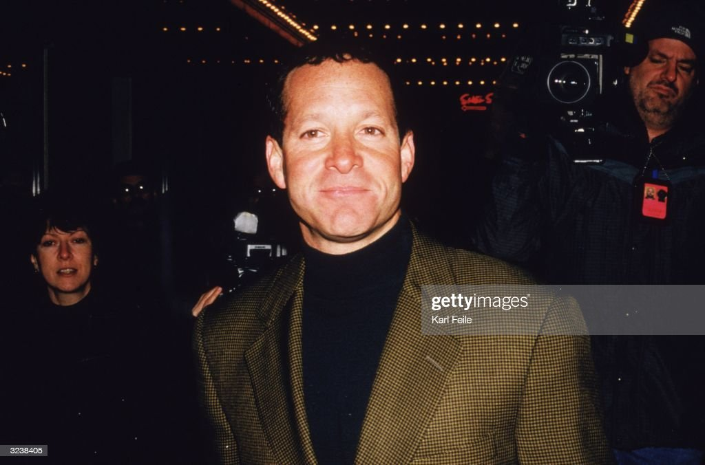 Headshot of American actor Steve Guttenberg at the Broadway opening of playwright N. Richard Nash's play 'The Rainmaker' at the Brooks Atkinson Theatre, New York City.