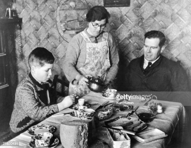 11yearold Otto Busch from Vienna moves in with Mr G Guest a British lorry driver and his wife at the start of World War II 1939 This was organised by...