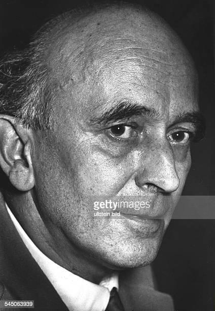 Musiker Komponist Kirchenmusik DPorträt um 1960