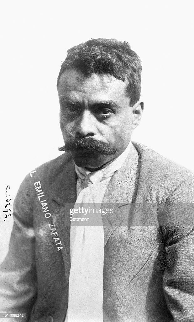 General <a gi-track='captionPersonalityLinkClicked' href=/galleries/search?phrase=Emiliano+Zapata&family=editorial&specificpeople=743817 ng-click='$event.stopPropagation()'>Emiliano Zapata</a> Mexican rebel leader.