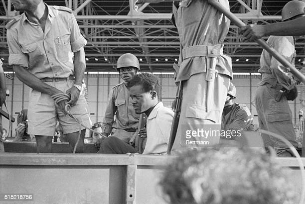 12/4/1960Leopoldville The CongoPremier Patrice Lumumba crosses the city in a Congolese Army truck after his arrest and return to the captial A...