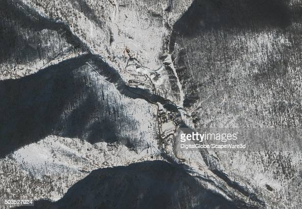 DigitalGlobe's highresolution 30 cm per pixel WorldView3 satellite collected this image of Punggyeri Nuclear It is North Korea's only known nuclear...