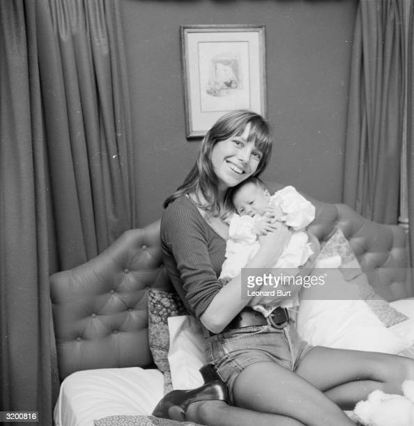 British singer actress and model Jane Birkin best known for her duet with partner Serge Gainsbourg 'Je t'Aime Moi Non Plus' a controversial number...