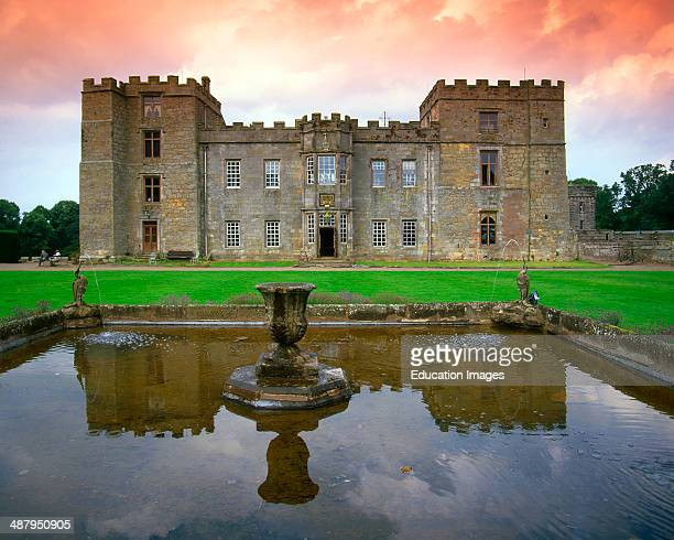 12Th Century Chillingham Castle Northumberland N/E England