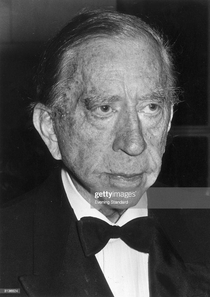American oil executive and art collector, John Paul Getty (1892 - 1976).