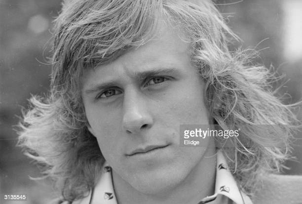 Swedish tennis player Bjorn Borg who later held the Wimbledon title for five years running