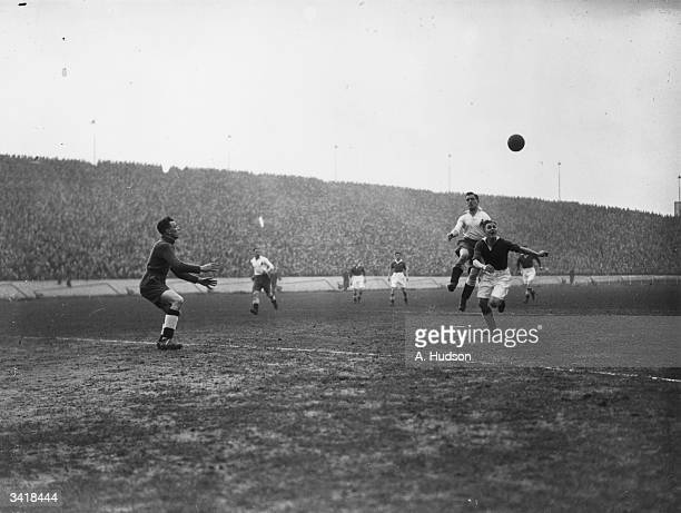 Chelsea's new signing from Luton Town Joe Payne chases the ball into the Bolton goal area as Chelsea play Bolton Wanderers at Stamford Bridge Joe...