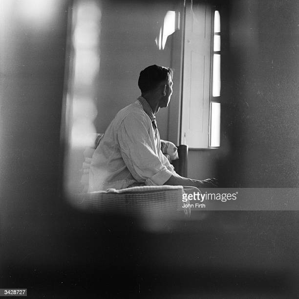 Every patient's room is visible through a long slit in the door at a special hospital at Broadmoor in Berkshire for those who commit crimes due to...