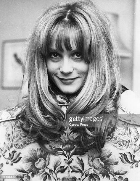 Francoise Dorleac actress and sister of Catherine Deneuve at a reception at the Dorchester Hotel to celebrate the end of the shooting of the film...