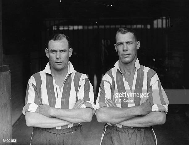 Brentford Football Club players L Townsend and D Hunt